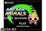 Arcade Animals. Super Ra Ccoon