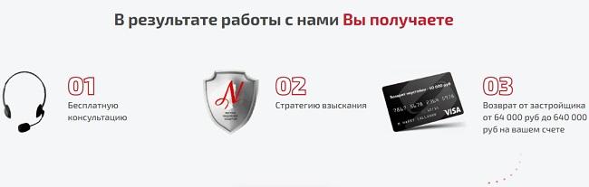 выплата неустойки по ДДУ на сайте неустойки.рф
