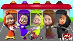 LEARN COLORS with MASHA and the BEAR! LEARN COLORS! Video for kids and toddlers! New Colors