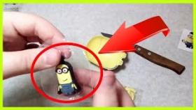 открыл МИНЬОН пакет с Бананами и Магнит! / opened the package MINIONS with Bananas and Magnet!