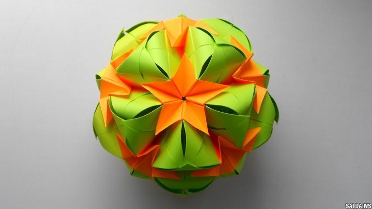 Интересные оригами из бумаги на новый год